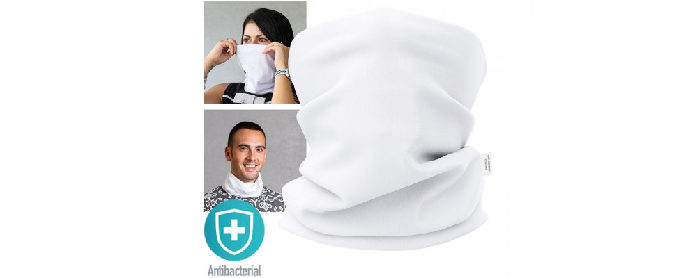 Fabricante de braga Tapacuellos sanitaria antibacteriana e hidrófuga personalizada - Fabricante de uniformes sanitarios Pronens