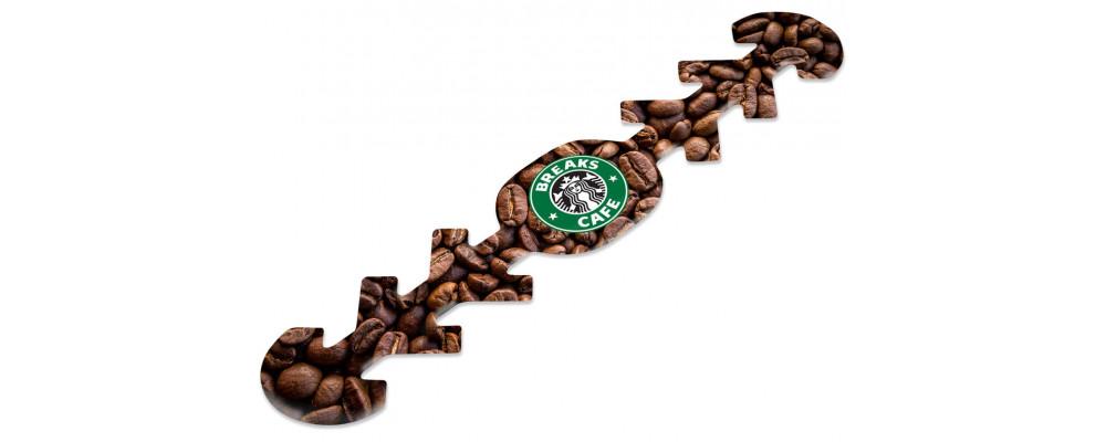 Fabricante de sujeta mascarillas salvaorejas personalizados Starbucks COVID 19