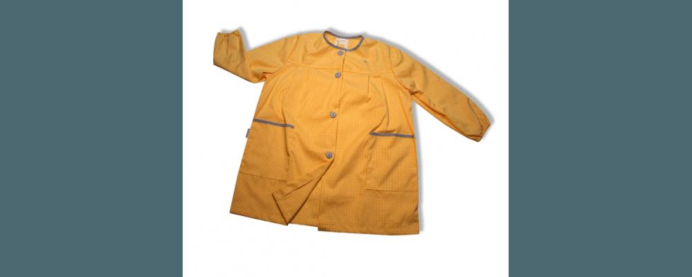 batas babys escolares botones  - uniformes colegiales
