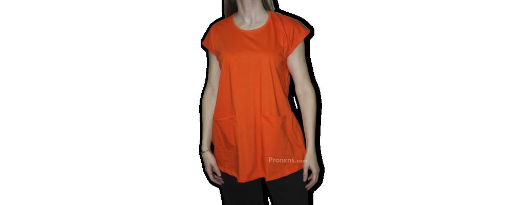 Blusón educadora infantil naranja - Uniformes educadora infantil Pronens