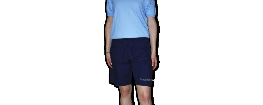 Pantalón bermuda para educadoras de escuelas infantiles, guarderías y colegios