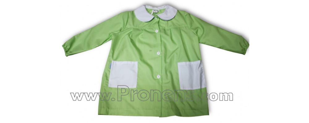 Batas escolares personalizadas para colegios liso pistacho
