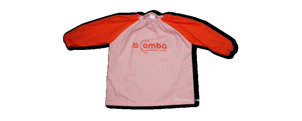 Bata babi escolar personalizado para escuelas infantiles - babis escolares Pronens