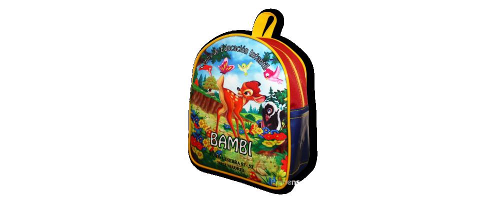 Fabricación de mochilas escolares personalizadas para la escuela infantil