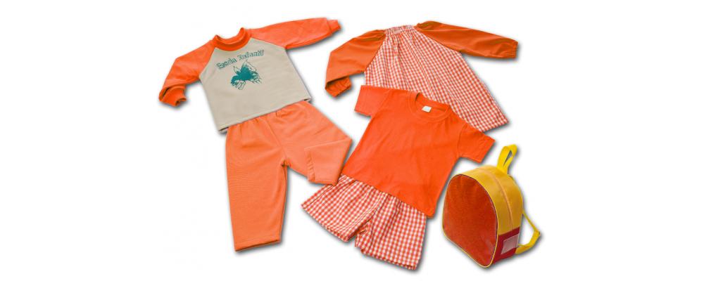 Kit escolar guardería - prendas escolares