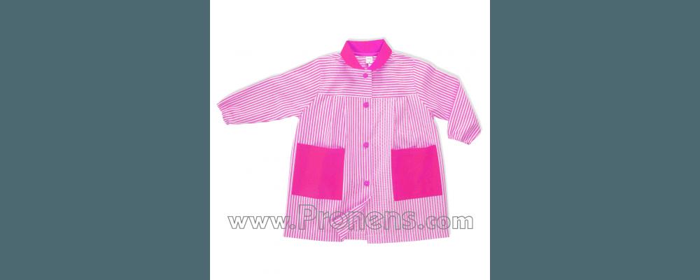batas babis escolares botones  - prendas escolares