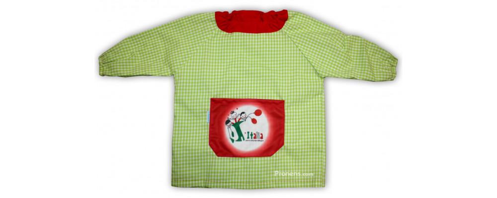 batas babis escolares con goma para colegios - Babis escolares Pronens