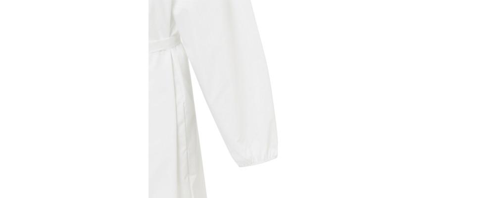 detalle manga Fabricante de Batas Sanitariaslavables a 60º entejido impermeable - batas sanitarias Pronens