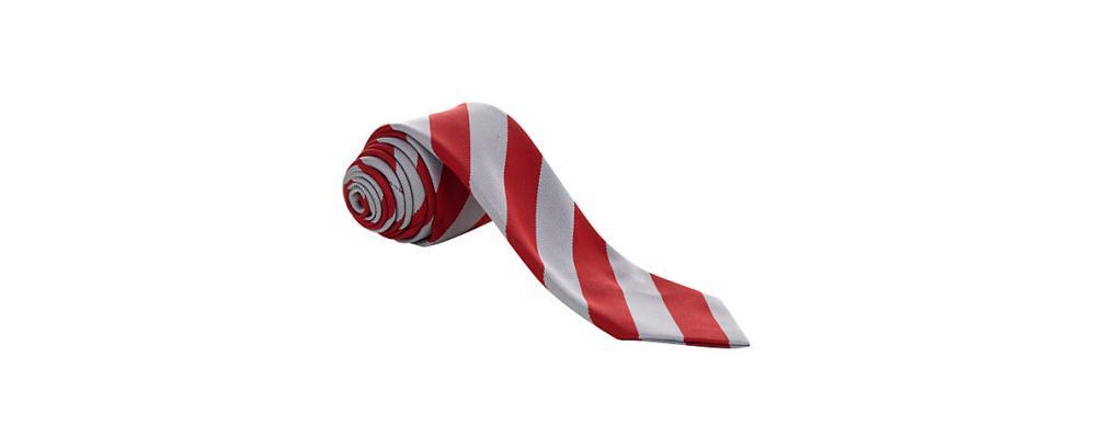 Fabricante de corbata escolar raya roja - Uniformes escolares Pronens