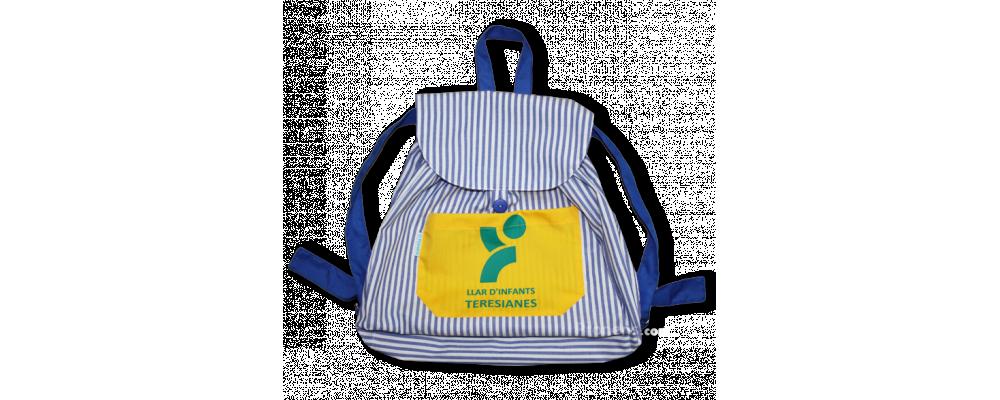 Mochila escolar infantil de tela colegio Teresianes - Mochilas infantiles escolares Pronens