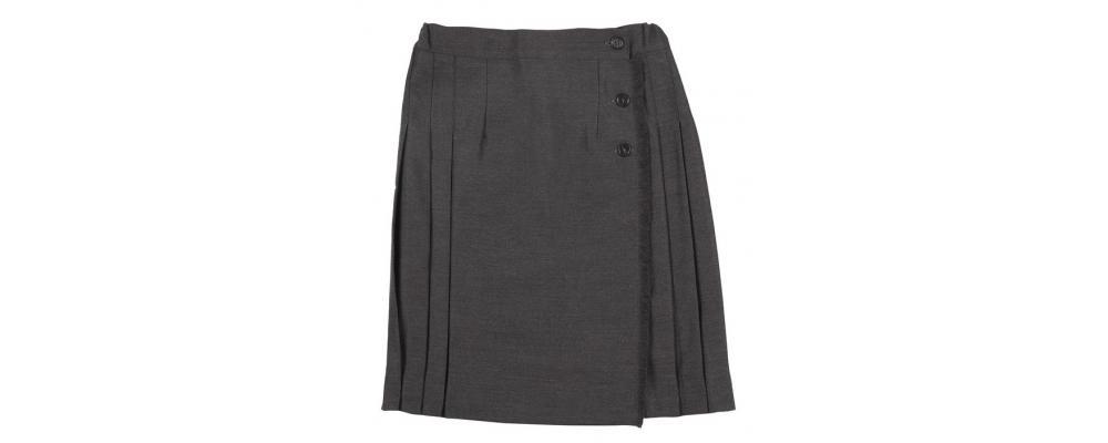 Fabricante de falda colegial gris - Uniformes escolares Pronens