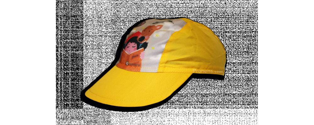 Fabricante de gorras infantiles personalizadas para colegios y escuelas infantiles