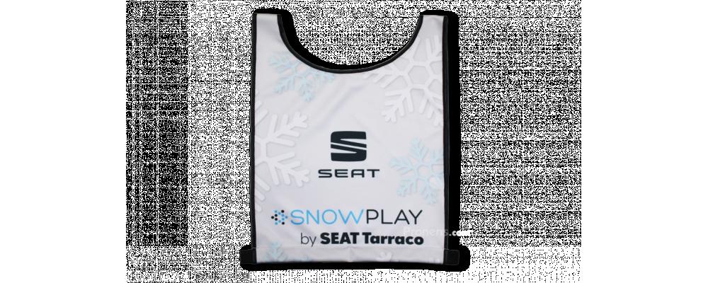 Fabricante de peto dorsal esquí personalizado Seat Tarraco - Dorsales esquí Pronens