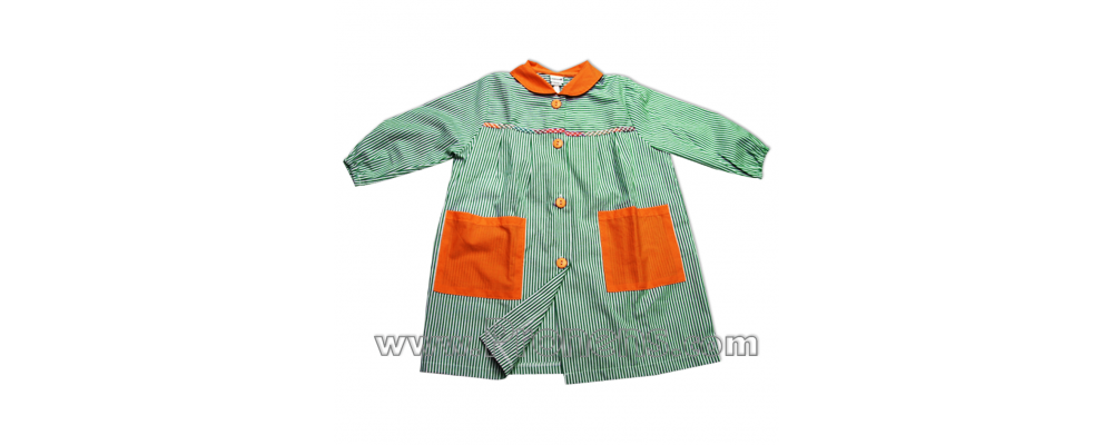 batas babys escolares botones  - prendas escolares 2