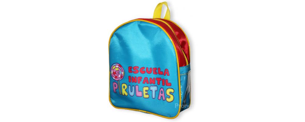 Mochila escolar infantil Piruletas - Mochilas escolares Pronens