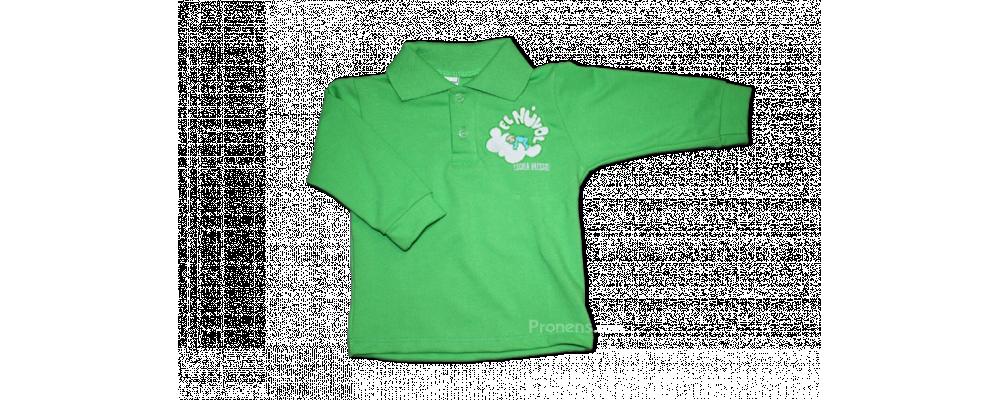 Fabricante polo escolar manga larga para escuelas infantiles - Polos escolares Pronens.com