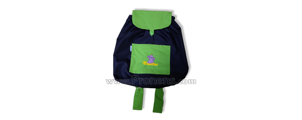 Mochilas personalizadas para escuelas infantiles