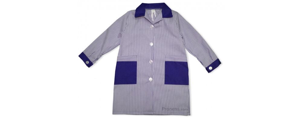 Batas escolares personalizadas para colegios cuello camisa marino