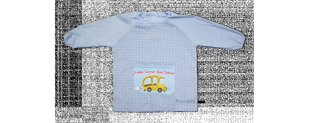 Fabricante de batas babis escolares personalizados Kiddy Corner Day School - Babis escolares Pronens