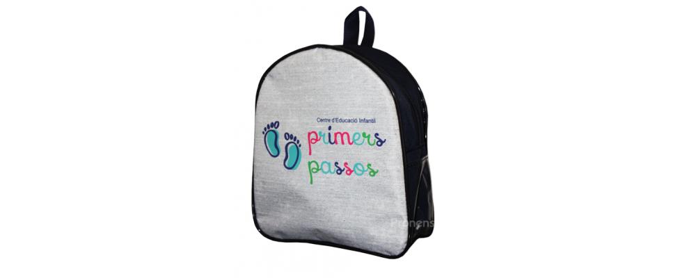 Fabricante mochila escolar escuela infantil Primers Passos - Mochilas escolares Pronens