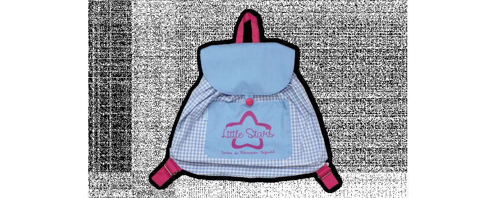 Fabricante de mochila escolar infantil personalizada Little Stars - Mochilas escolares de tela Pronens