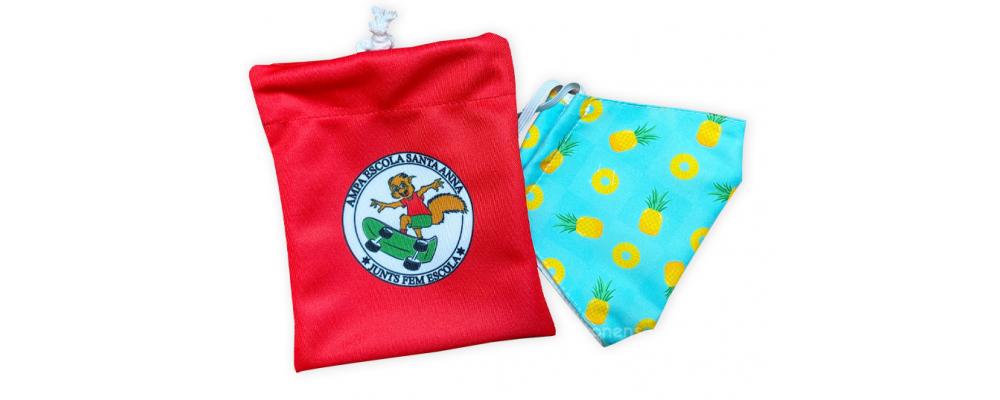 Fabricante de bolsas guarda mascarillas personalizadas - mascarillas lavables Pronens