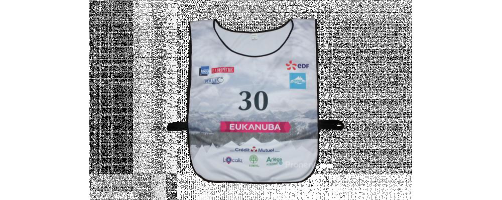 Fabricante petos identificativos Pyrenees EDF Mushing Race