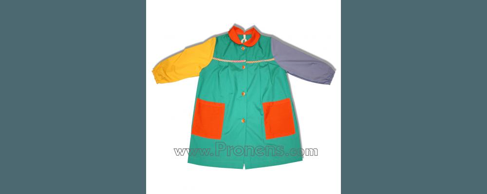 batas babys escolares popelin - uniformes escolares Pronens 6