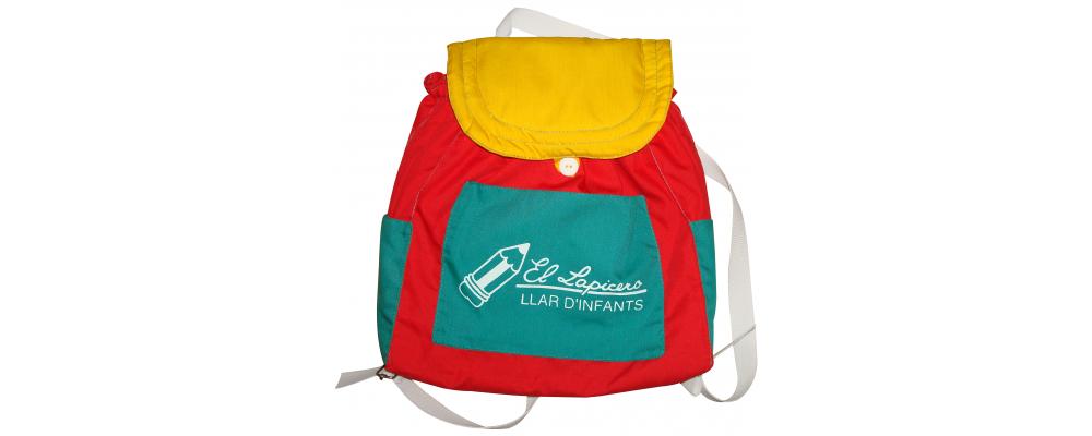 Mochilas guarderías tela acolchada y mochilas escolares Pronens 6
