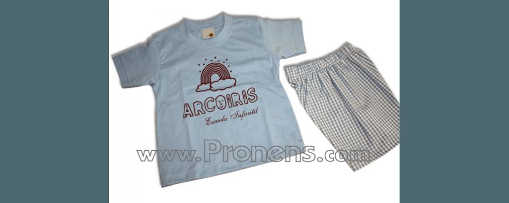 conjunto guardería verano  - uniformes guarderia pronens 2