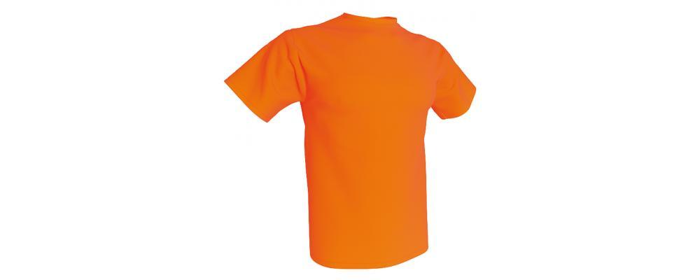 Camiseta publicidad naranja - Camisetas publicidad Pronens