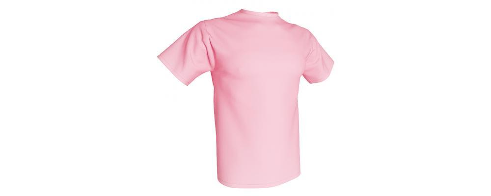 Camiseta publicidad rosa - Camisetas publicidad Pronens