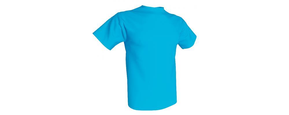 Camiseta publicidad turquesa - Camisetas publicidad Pronens