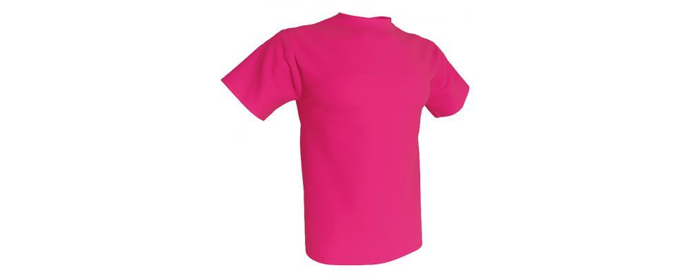 Camiseta publicidad magenta - Camisetas publicidad Pronens