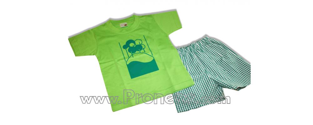 conjunto guardería verano  - uniformes guarderia pronens 1