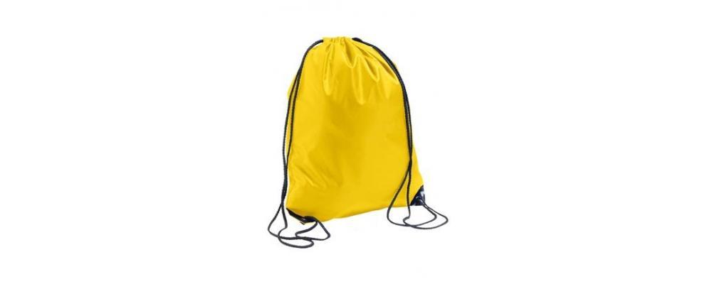 mochila poliester Amarilla - mochilas escolares Pronens