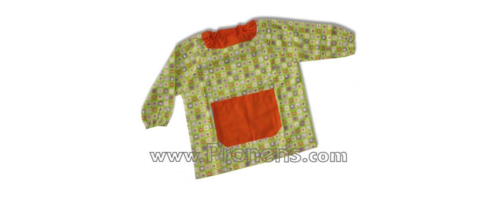 batas babys guarderias saquito  - uniformes guarderías 1