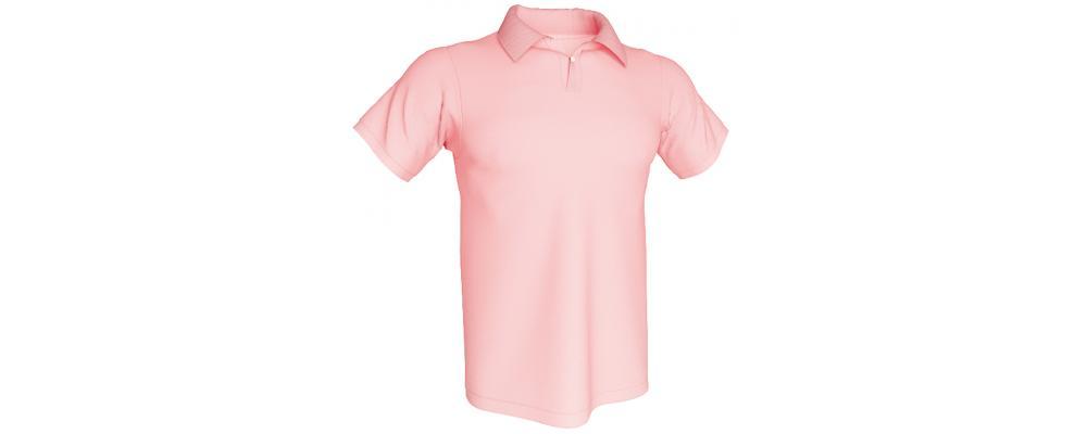 Polo rosa personalizado - Polos personalizados para grupos y colectivos