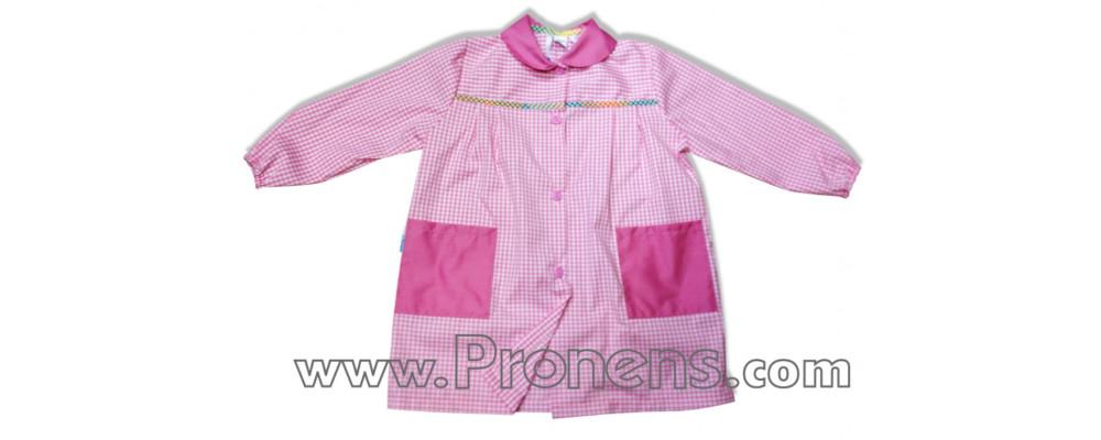 Batas escolares personalizadas para colegios cuadro rosa