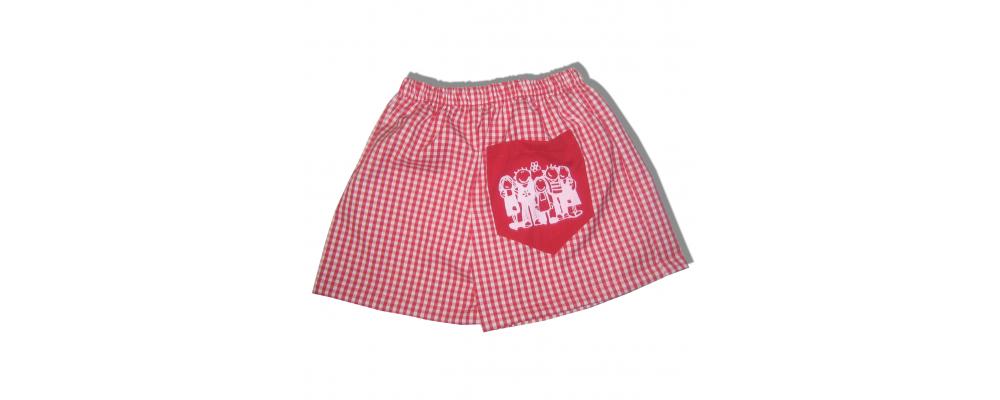 pantalon cuadro guardería - uniformes escuela infantil