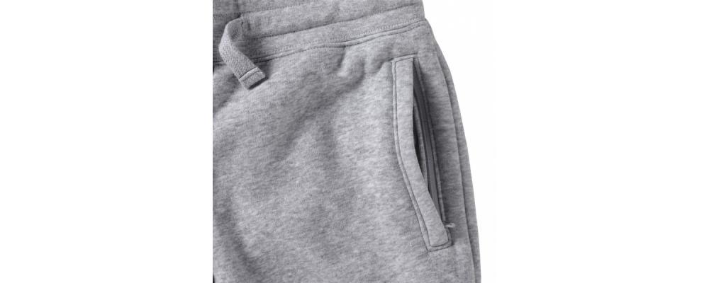 Bolsillo pantalón chándal elástico gris - Uniformes educadoras infantiles Pronens
