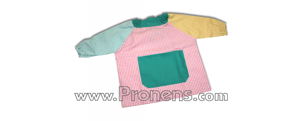 batas babys guarderias patchwork  - uniformes guarderías 7