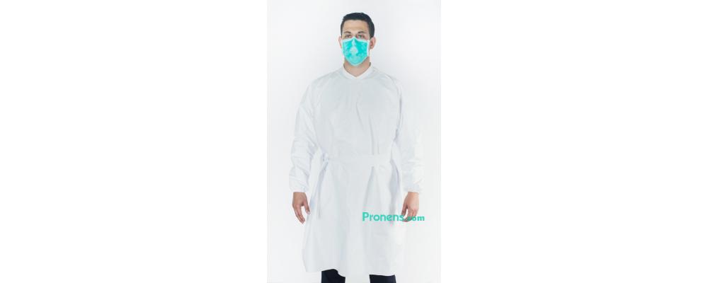 Fabricante de bata sanitaria impermeable y transpirable - Batas sanitarias impermeables Pronens
