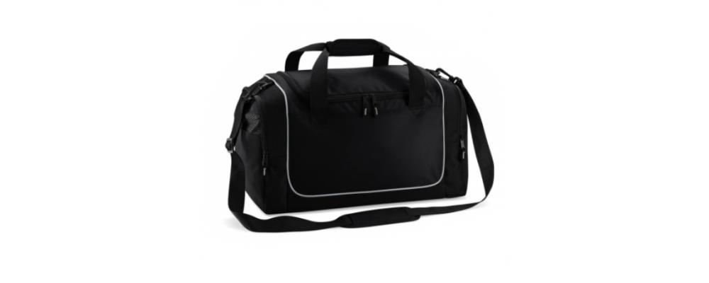 Medidas Bolsa deporte taquilla negro y gris - Bolsas deporte personalizadas Pronens