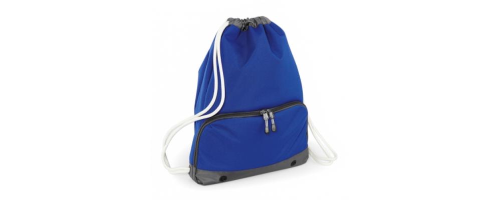 Bolsa mochila cremallera azulón - Bolsas deporte personalizadas Pronens
