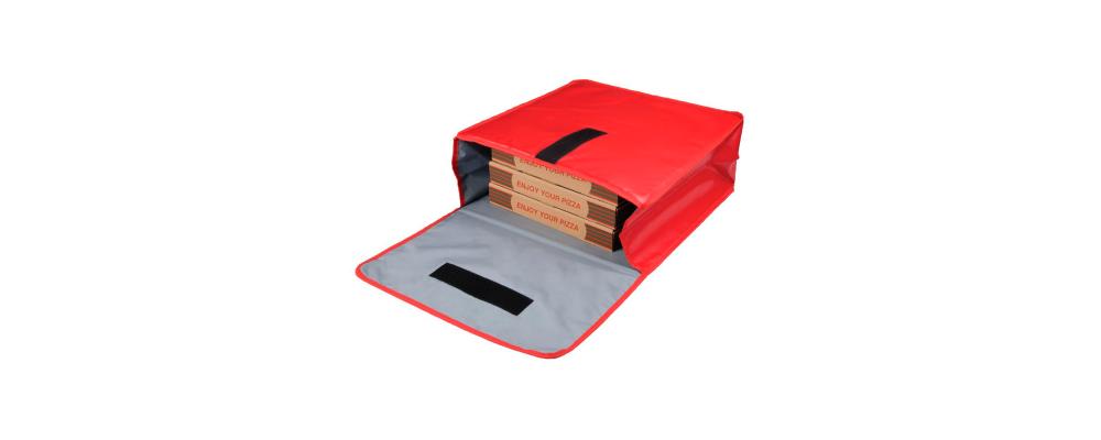 Mochila Delivery porta pizzas personalizada