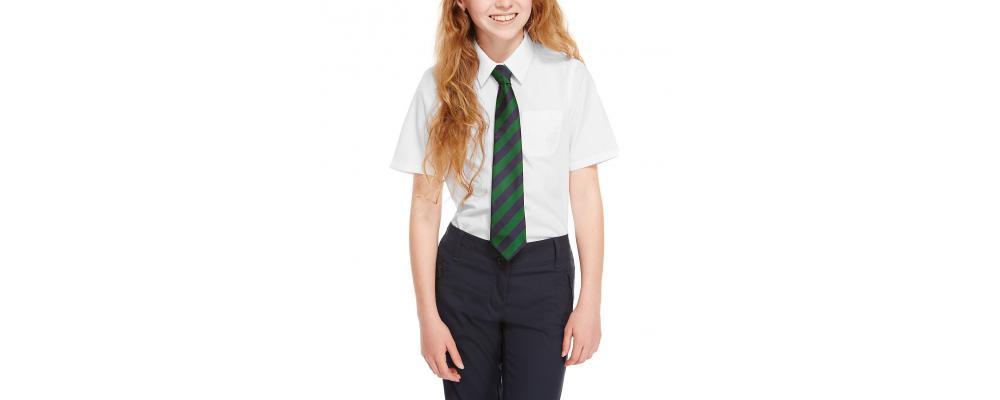 Camisa escolar manga corta - camisas escolares Pronens