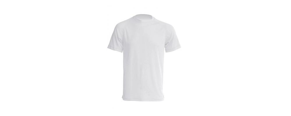 Camiseta tecnica blanca - Uniformes escolares Pronens