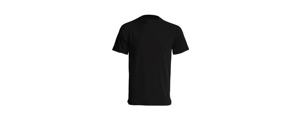 Camiseta tecnica Negro - Uniformes escolares Pronens