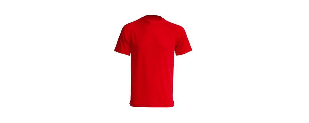 Camiseta tecnica Rojo fluor - Uniformes escolares Pronens